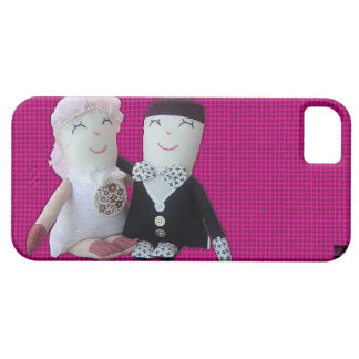 Vintage Doll Newlywed iPhone 5 Case-Mate Case