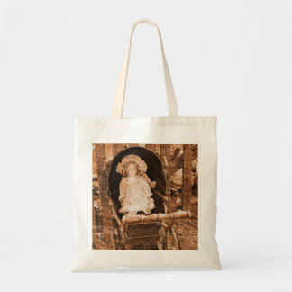 Vintage Doll photographed by Tutti Tote Bag