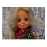 Vintage Doll - postcard