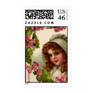 Vintage doll : sugar and spice stamps