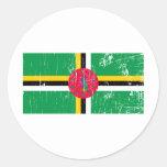 Vintage Dominica Sticker