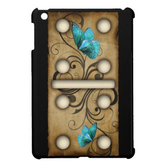 Vintage Dominoes double-five domino tile iPad Mini Covers