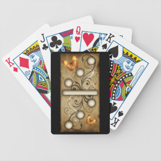 Vintage Dominoes double-three domino tile Bicycle Playing Cards