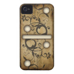 Vintage Dominoes double-two domino tile Case-Mate iPhone 4 Cases