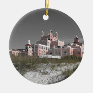 Vintage Don CeSar Ceramic Ornament