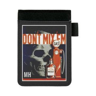 """Vintage """"Don't Mix 'Em"""" custom monogram pad folio Mini Padfolio"""