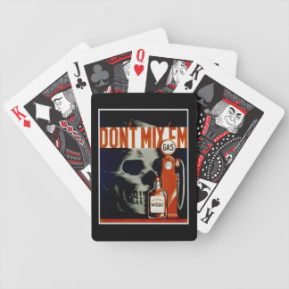 """Vintage """"Don't Mix 'Em"""" playing cards"""