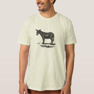 Vintage Donkey Illustration -1800's Donkeys Tee Shirt