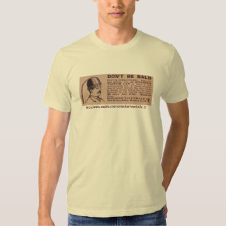 """Vintage """"Don't be bald"""" ad-tee T Shirt"""