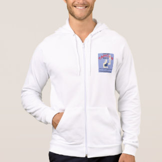 Vintage Don't Fear Cancer WPA Poster Hoodie