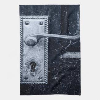Vintage Door Handle Kitchen Towel