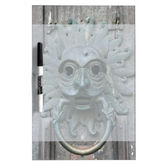 Vintage Door Knocker Dry-Erase Board