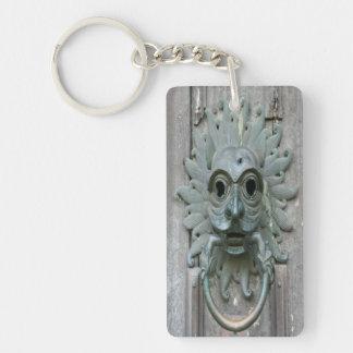 Vintage Door Knocker Acrylic Key Chains