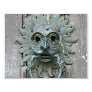 Vintage Door Knocker Photo Print