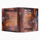 Vintage Door Personalized Photo Album Binder