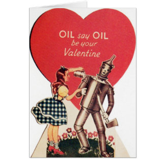 Vintage Dorothy and Tin Man Valentine's Day Card