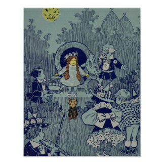 Vintage Dorothy in the Wizard of Oz Print