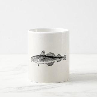 Vintage Dorse Fish - Marine Fishes Template Blank Coffee Mugs