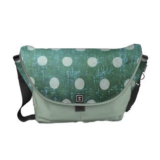 Vintage dots bag messenger bag