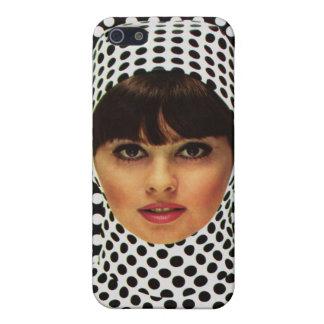 """Vintage """"Dots"""" iPhone 4 Case"""