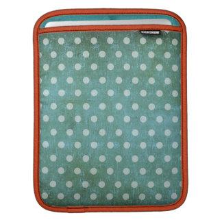 vintage dots sleeve ipad sleeve for iPads