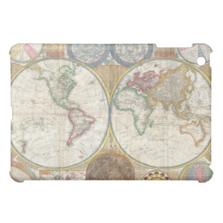 Vintage Double Hemisphere Map of the World iPad Mini Case