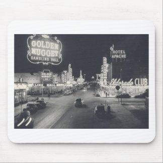 Vintage Downtown Las Vegas Mouse Pad