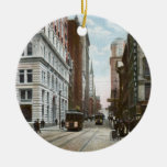 Vintage Downtown Pittsburgh Ornament