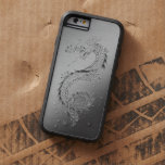 Vintage Dragon Brushed Metal Look iPhone 6 Case