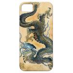 Vintage Dragon on Parchment Asian iPhone 5 Case