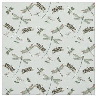Vintage Dragonflies Fabric