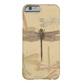 Vintage dragonfly drawing barely there iPhone 6 case