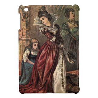 Vintage Drawing: Cinderella and the Evil Sisters iPad Mini Cover