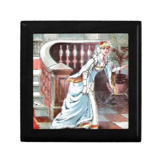 Vintage Drawing: Cinderella and the Glass Slipper Gift Box