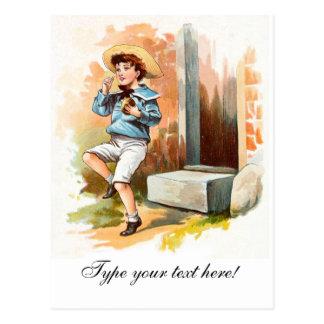 Vintage Drawing: Little Jack Postcard