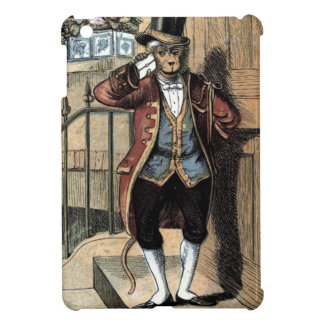 Vintage Drawing: Monkey in a Suit iPad Mini Cover