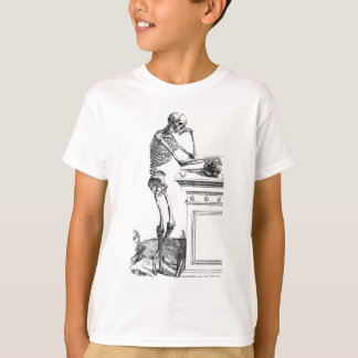 Vintage drawing of a standing skeleton T-Shirt
