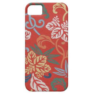Vintage Drawing of Kimono Design  iPhone Case