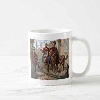 Vintage Drawing: Redcoat Soldiers Coffee Mug