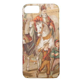 Vintage Drawing St. Nicholas St. Nick Sinterklaas iPhone 8/7 Case