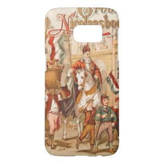 Vintage Drawing St. Nicholas St. Nick Sinterklaas Samsung Galaxy S7 Case