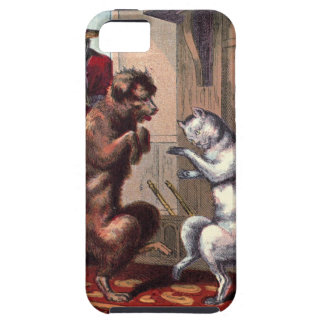 Vintage Drawing: The Dancing Lesson iPhone 5 Cases