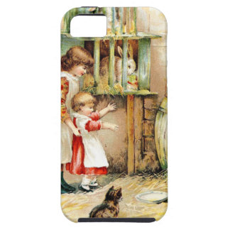 Vintage Drawing: The Rabbit Hutch iPhone SE/5/5s Case