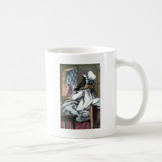 Vintage Drawing: The Wolf in Grandma's Clothes Coffee Mug