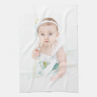 Vintage Dress Baby Girl Towel