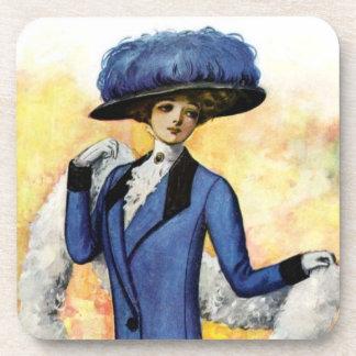 Vintage Dress Cork Coaster