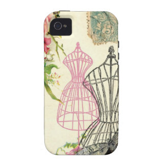 Vintage Dress Forms French Case Vibe iPhone 4 Case
