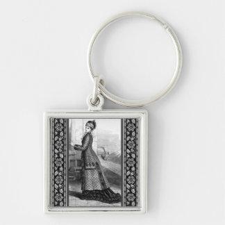 Vintage Dress Keychain
