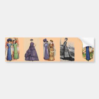 Vintage Dresses Bumper Sticker