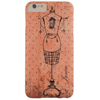 Vintage Dressmaker Barely There iPhone 6 Plus Case